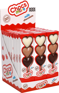 "In the box ""Heart"" there are 24 pieces, each 25grams."