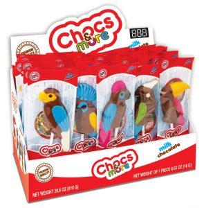 Շոկոլադե թռչունների հավաքածու 18գր